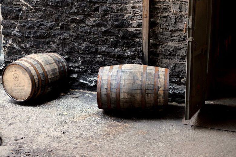 ウッドフォードリザーブ 蒸留所 樽