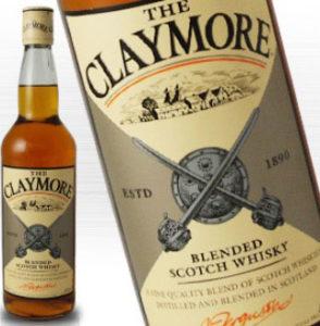 ウイスキー クレイモア ラベル