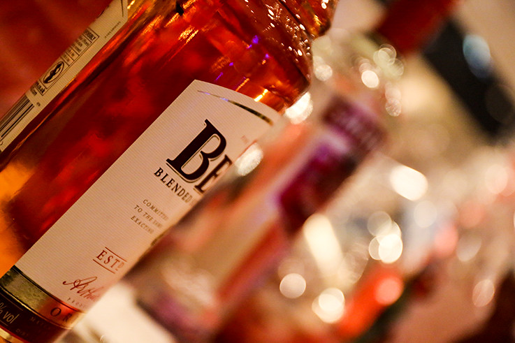 ベル ウイスキー ボトル