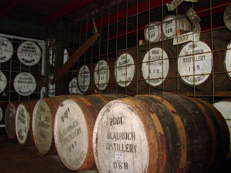 ブラドノック蒸留所 樽