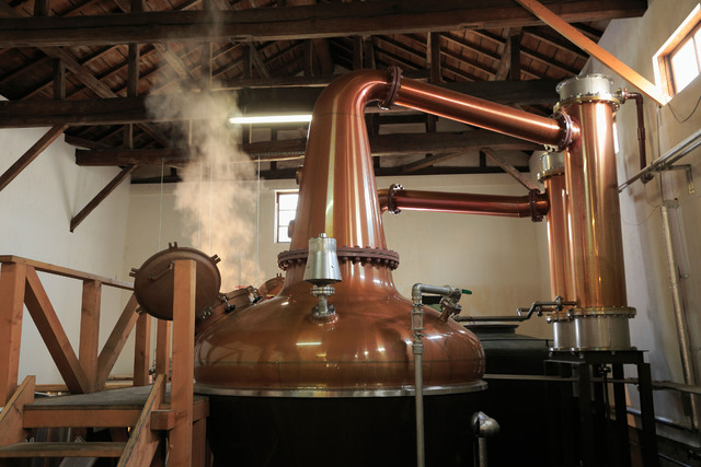 笹の川酒造 安積蒸溜所